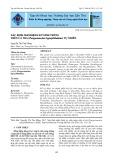 Xác định mầm bệnh ký sinh trùng trên cá tra (pangasianodon hypophthalmus) tự nhiên