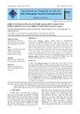 Khảo sát hàm lượng flavonoid, alkaloid và khả năng kháng khuẩn của cao chiết cỏ Mần Trầu (Eleusine indica)