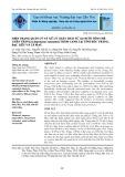 Hiện trạng quản lý và xử lý chất thải từ ao nuôi tôm thẻ chân trắng (litopenaeus vannamei) thâm canh tại tỉnh Sóc Trăng, Bạc Liêu và Cà Mau
