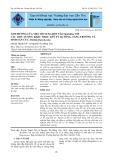 Ảnh hưởng của việc bổ sung bột tảo spirulina với các liều lượng khác nhau lên tỷ lệ sống, tăng trưởng và sinh sản của Artemia franciscana