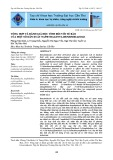 Tổng hợp và đánh giá độc tính đối với tế bào của một số dẫn xuất Naphthalenyl benzimidazole