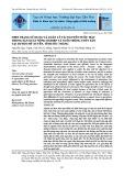 Hiện trạng sử dụng và quản lý tài nguyên nước mặt trong sản xuất nông nghiệp và nuôi trồng thủy sản tại huyện Mỹ Xuyên, tỉnh Sóc Trăng
