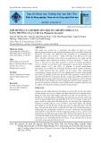 Ảnh hưởng của nitrite lên một số chỉ tiêu sinh lý và tăng trưởng của cá ba sa (pangasius bocourti