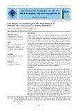 Ảnh hưởng của độ mặn thấp lên sinh trưởng và sinh sản của Artemia franciscana dòng Vĩnh Châu