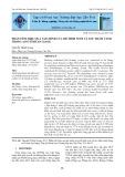Phân tích hiệu quả tài chính của mô hình nuôi cá lóc thâm canh trong ao ở tỉnh An Giang