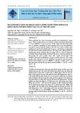 So sánh khả năng dự đoán chất lượng nước sông đồng nai bằng mạng nơ ron nhân tạo và lý thuyết xám