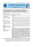 So sánh ảnh hưởng của việc sử dụng đơn lẻ và kết hợp hoạt chất fenobucarb và chlorpyrifos ethyl cho lúa đến cholinesterase ở cá lóc (Channa striata) sống trên ruộng