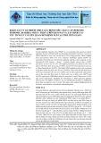 Khảo sát tỷ lệ nhiễm virus gây bệnh tiêu chảy cấp (Porcine epidemic diarhea virus - PEDV) trên heo nái và xác định các yếu tố nguy cơ liên quan đến bệnh PED tại tỉnh Tiền Giang