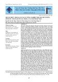 Thách thức trong sản xuất nông nghiệp ở huyện Mỹ Xuyên, tỉnh Sóc Trăng dưới tác động của xâm nhập mặn