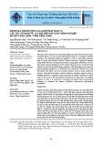 Đánh giá ảnh hưởng của xâm nhập mặn và các yếu tố kinh tế - xã hội đến sản xuất nông nghiệp huyện Vũng Liêm - tỉnh Vĩnh Long