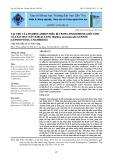 Vai trò của hydrocarbon biểu bì trong pheromone giới tính của sâu đục dây khoai lang omphisa anastomosalis gueneé (lepidoptera: crambidae)