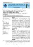 Khảo sát hàm lượng phenolic tổng, flavonoid tổng, hoạt tính chống oxy hóa và hoạt tính kháng khuẩn của cao chiết ethanol và methanol của lá và thân rễ cây Cỏ Tranh (Imperata cylindrica)