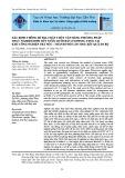 Xác định thông số địa chất thủy văn bằng phương pháp thực nghiệm bơm hút nước dưới đất (pumping test) tại khu công nghiệp Trà Nóc - thành phố Cần Thơ: Kết quả sơ bộ