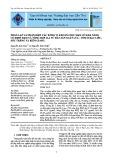 Phân lập và nhận diện các dòng vi khuẩn chịu mặn có khả năng cố định đạm và tổng hợp IAA từ đất sản xuất lúa - tôm ở Bạc Liêu, Sóc Trăng và Kiên Giang