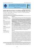 Đánh giá hiệu quả kỹ thuật và tài chính của mô hình nuôi tôm sú quảng canh cải tiến và tôm - lúa tại huyện Thới Bình, tỉnh Cà Mau