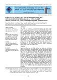 Khảo sát xu hướng thay đổi chất lượng nước mặt liên quan đến hoạt động sản xuất nông nghiệp trong vùng đê bao khép kín huyện Chợ Mới, tỉnh An Giang