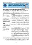 Phân tích một số khía cạnh kinh tế và môi trường của các mô hình sản xuất nông nghiệp trong vùng đê bao khép kín, trường hợp nghiên cứu tại huyện Chợ Mới, tỉnh An Giang