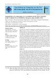 Ảnh hưởng của nồng độ co 2 cao trong nước lên cân bằng acid và base của lươn đồng, monopterus albus (zuiew, 1973)