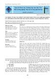 Tác động về mặt tài chính và dự đoán khả năng xuất hiện dịch bệnh của mô hình nuôi tôm thẻ chân trắng thâm canh ở tỉnh Sóc Trăng