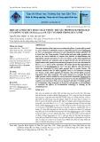 Hiệu quả phân hủy hoạt chất thuốc trừ sâu propoxur trong đất của dòng vi khuẩn Paracoccus sp. P23-7 cố định trong bã cà phê