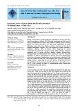 Đa dạng loài và đặc điểm phân bố giun đất ở tỉnh Bà Rịa - Vũng Tàu