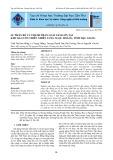 Sự phân bố và thành phần loài nấm lớn tại khu bảo tồn thiên nhiên lung Ngọc Hoàng, tỉnh Hậu Giang