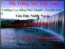 Bài giảng Ngữ văn lớp 12 - Bài: Tác phẩm Đông Chu Liệt Quốc