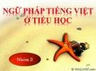 Bài giảng Tiếng Việt tiểu học - Bài: Cụm động từ