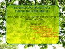 Bài giảng Ngữ văn lớp 12 - Bài: Nhà thơ Rabindranath Tagore