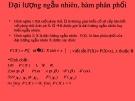 Bài giảng Xác suất - Bài 1: Đại lượng ngẫu nhiên, hàm phân phối