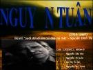 Bài giảng Ngữ văn lớp 12 - Bài: Tác giả Nguyễn Tuân