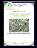 Thuyết minh Dự án Trang trại chăn nuôi ba ba thương phẩm