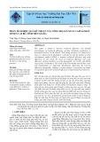 Phân tích hiệu quả kỹ thuật của nông hộ sản xuất cam sành ở huyện Cái Bè, tỉnh Tiền Giang