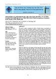 Ảnh hưởng của hỗn hợp dược liệu lên tăng trưởng, tỷ lệ sống và đáp ứng miễn dịch của tôm thẻ chân trắng (Litopenaeus vannamei) nuôi thâm canh trong bể