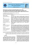 Phân tích các nhân tố ảnh hưởng đến sự hài lòng của khách hàng đối với chất lượng dịch vụ chuyển tiền, thu hộ tiền và chi hộ tiền: Trường hợp Bưu điện tỉnh An Giang