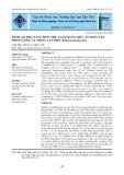 Đánh giá khả năng thay thế Artemia bằng thức ăn nhân tạo trong ương ấu trùng cua biển