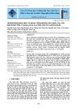 Thành phần hoá học và hoạt tính kháng oxy hoá của cây Bạch Đầu Ông Vernonia Cinerea Less, họ cúc