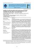 Nghiên cứu khả năng kháng nấm Colletotrichum gloeosporioides gây bệnh thán thư trên cây ớt (Capsicum frutescens L.) của chế phẩm oligochitosan - nano silica (SiO2)