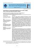 Ảnh hưởng của xâm nhập mặn đến sản xuất nông nghiệp, thủy sản huyện Trần Đề, tỉnh Sóc Trăng