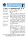 Đánh giá hiệu quả vận hành hệ thống công trình thủy lợi trong sản xuất nông nghiệp tại tỉnh Sóc Trăng