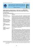 Đánh giá khía cạnh kỹ thuật và hiệu quả tài chính trong nuôi tôm sú theo mô hình tôm - lúa luân canh ở tỉnh Cà Mau