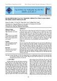 Dự báo đỉnh mặn tại các trạm đo chính của tỉnh Cà Mau bằng mô hình chuỗi thời gian mờ
