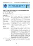 Nghiên cứu đặc điểm dinh dưỡng cá cóc (Cyclocheilichhthys enoplos) giai đoạn cá bột lên cá giống