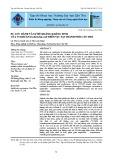 Sự lưu hành và sự đề kháng kháng sinh của vi khuẩn Escherichia coli trên vịt tại thành phố Cần Thơ