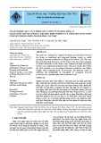 So sánh hiệu quả tài chính giữa chăn nuôi sinh thái và chăn nuôi truyền thống: Trường hợp nghiên cứu nông hộ chăn nuôi ở huyện Phong Điền, thành phố Cần Thơ