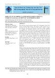 Khảo sát tỷ lệ nhiễm và sự đề kháng kháng sinh của vi khuẩn Escherichia coli trên vịt tại tỉnh Đồng Tháp