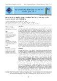 Phân tích các thông số di truyền ở bốn quần thể đậu xanh Taichung đột biến thế hệ M3