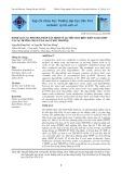 Đánh giá các phương pháp xác định tỷ lệ tiêu hóa biểu kiến acid amin và các dưỡng chất ở gà Sao tăng trưởng