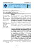 Xác định các yếu tố ảnh hưởng đến tiềm năng phát triển giống AG - Nếp tỉnh An Giang