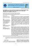 Ảnh hưởng của việc giảm phân đạm bổ sung chế phẩm nBPT, NEB26 đến sinh trưởng, năng suất lúa và hiệu quả sử dụng đạm trên đất lúa Tam Bình - Vĩnh Long
